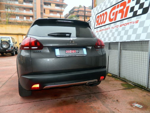 Peugeot 2008 1.2 Thp powered by 9000 Giri