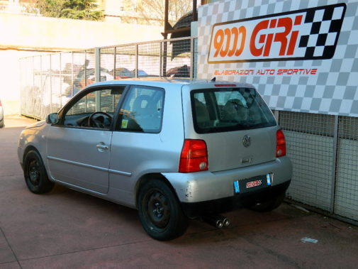 Vw Lupo powered by 9000 Giri