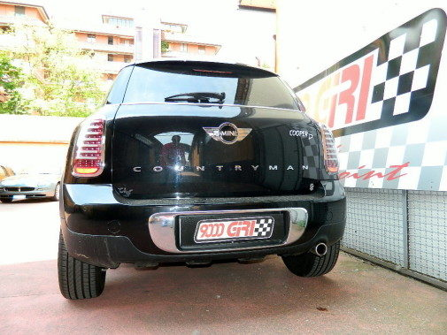 Mini Countryman Cooper Sd powered by 9000 Giri