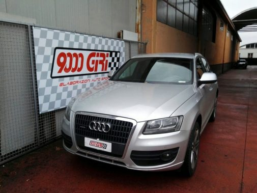 Audi Q5 3.0 tfsi powered by 9000 Giri
