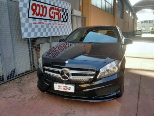 Mercedes Cla 200d powered by 9000 Giri