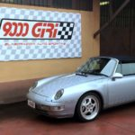 """Elaborazione Porsche 993 Carrera 4 cabrio """"Il ciupito"""""""