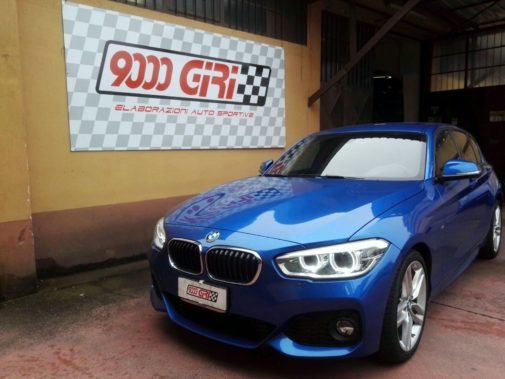 Bmw 116d powered by 9000 giri