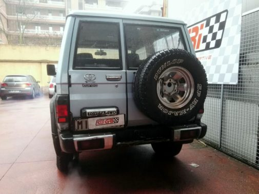 Toyota Land Cruiser Lj70 powered by 9000 Giri