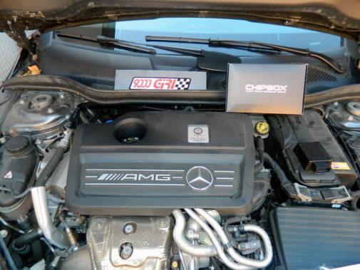Mercedes A45 Amg powered by 9000 Giri