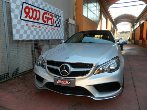Mercedes Benz E350 powered by 9000 Giri