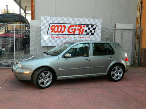 Golf IV powered by 9000 Giri