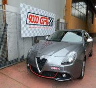 """Elaborazione Alfa Romeo Giulietta 1.6 Jtdm """"Pastosa"""""""