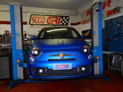 Fiat Cinquecento Abarth powered by 9000 Giri