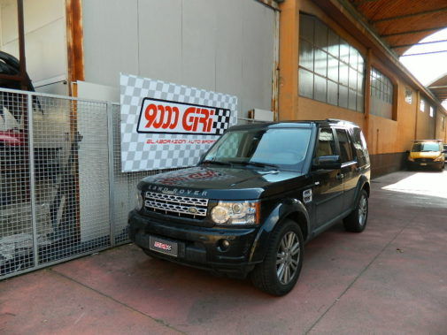 Land Rover Discovery 3.0 V6 powered by 9000 Giri
