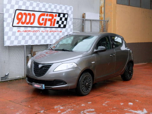 Lancia Ypsilon 1.2 16v powered by 9000 Giri