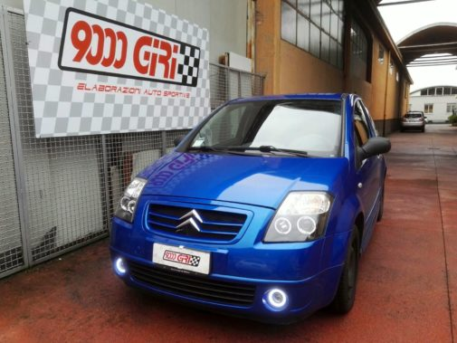 Citroen C2 powered by 9000 Giri