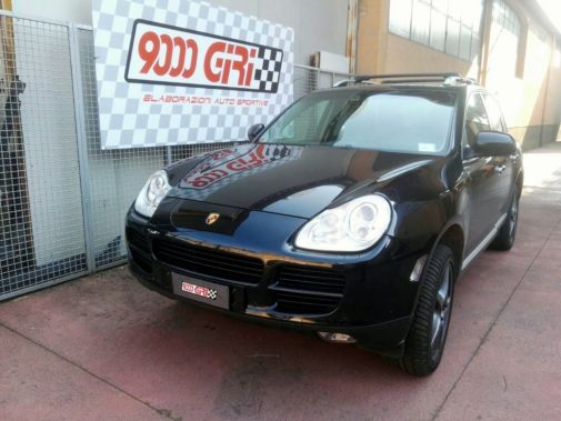 Porsche Cayenne 4.5 S V8 powered by 9000 Giri