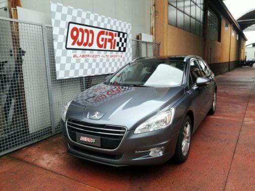 Peugeot 508 2.0 hdi sw powered by 9000 Giri