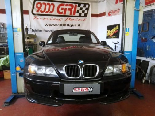 Bmw Z3 1.9 16v powered by 9000 Giri