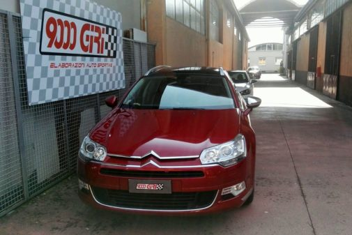 Citroen C5 1.6 Thp powered by 9000 Giri