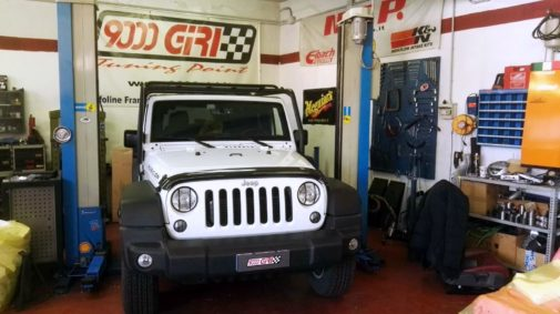 Jeep Wrangler Jk 2.8 crd powered by 9000 Giri & 4wd Italia