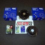 9000 Giri centro installazione dischi e pastiglie freno Ebc per Milano