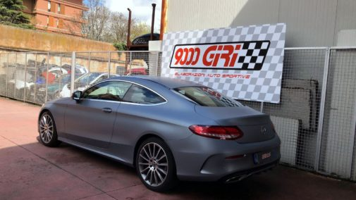 Mercedes c 220 cdi coupè powered by 9000 Giri