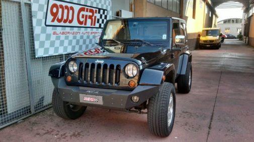 elaborazione jeep wrangler jk