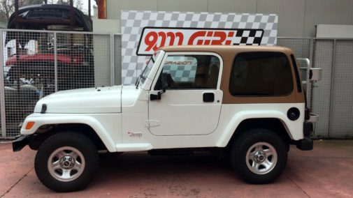 Jeep Wrangler 2.5 Tj powered by 9000 Giri