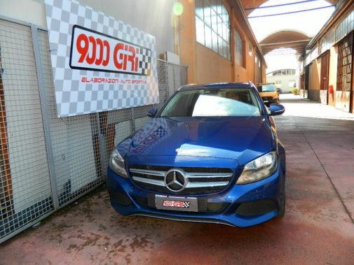 Mercedes c220cdi sw powered by 9000 giri