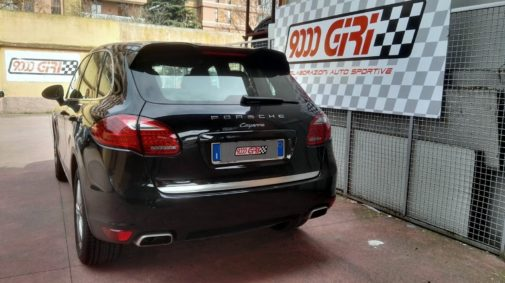 Porsche Cayenne 3.0 tdi powered by 9000 Giri