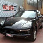 "Elaborazione Porsche Cayenne 3.0 tdi ""Tycoon mania"""