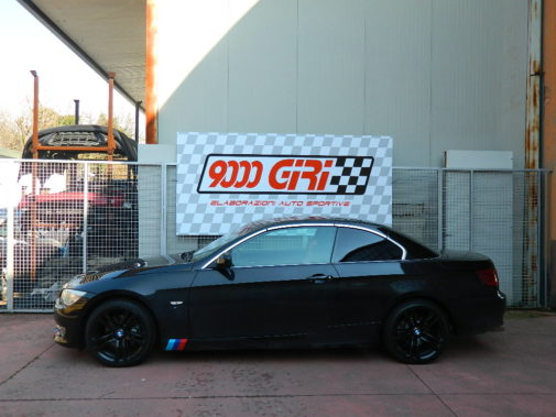 Bmw 320d e92 powered by 9000 giri