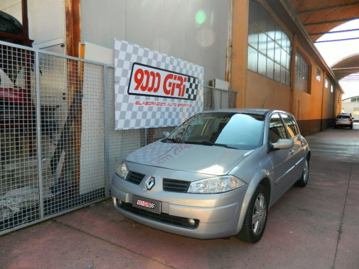 Renault Megane 1.9 cdi powered by 9000 Giri