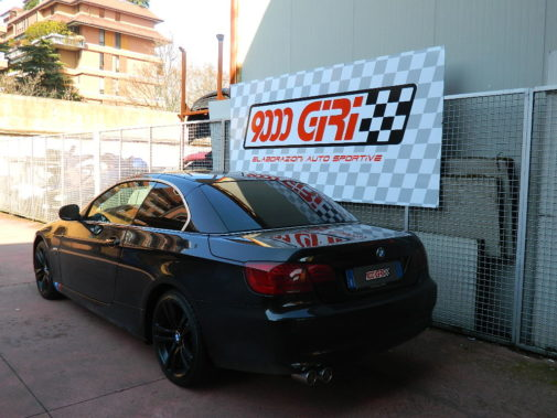 bmw 320d e92 coupè powered by 9000 Giri