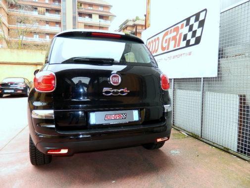 Fiat 500 L 1.3 Mjet powered by 9000 Giri