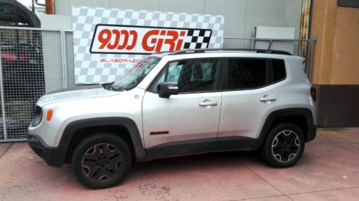 Jeep Renegade 2.0 mjet2 powered by 9000 Giri