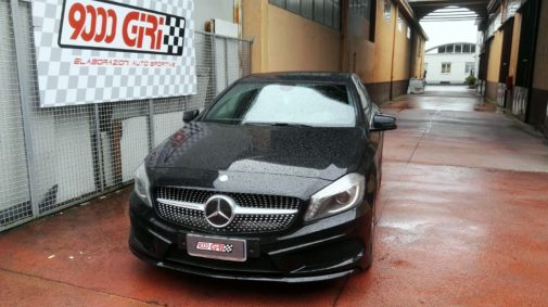 Mercedes Benz classe a 200 dci powered by 9000 Giri