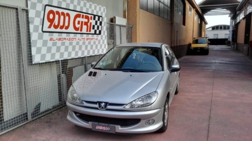 Peugeot 206 1.6 16v powered by 9000 Giri