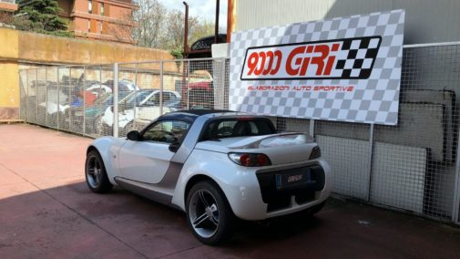 Smart Roadster 0.8 turbo powered by 9000 Giri