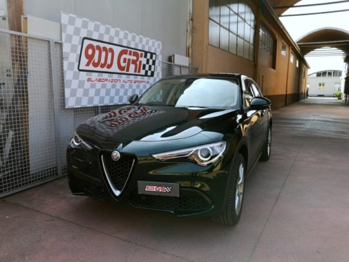 Alfa Stelvio Q4 powered by 9000 Giri