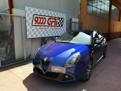 Alfa Romeo Giulietta 2.0 jtdm2 powered by 9000 giri