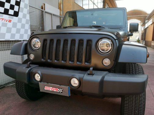 Jeep Wrangler Jk 2.8 crd powered by 9000 Giri