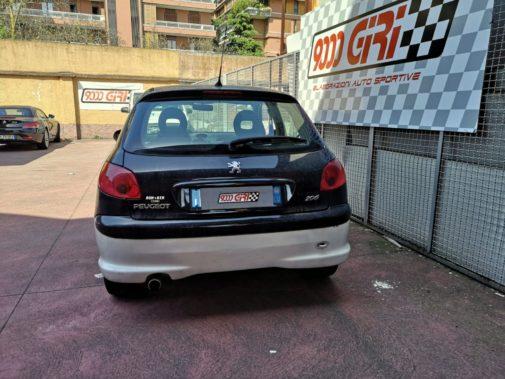 Peugeot 206 1.4 16v powered by 9000 giri
