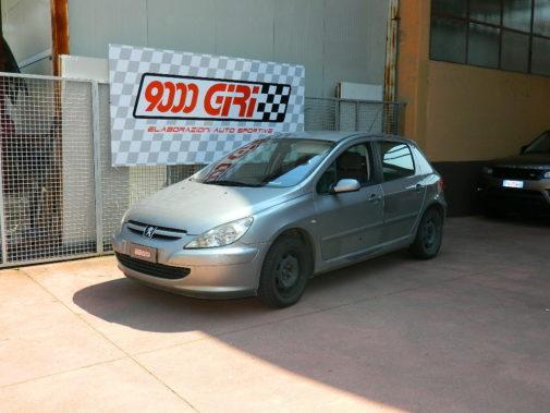 Peugeot 307 2.0 hdi powered by 9000 giri