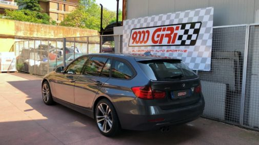 Bmw 330d powered by 9000 Giri