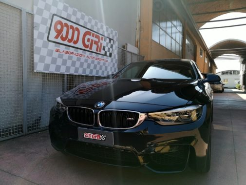 Bmw M4 powered by 9000 Giri