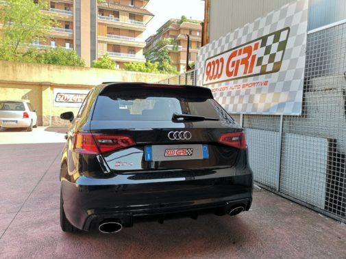 Audi Rs3 powered by 9000 Giri