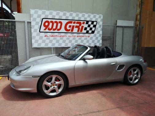 Porsche Boxter powered by 9000 Giri