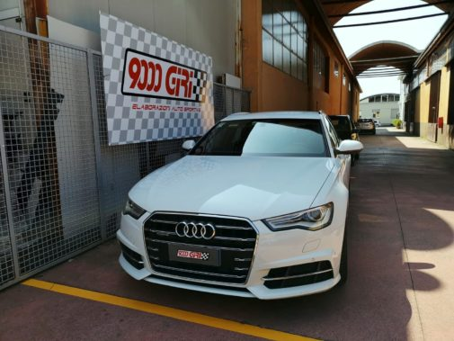 Audi A6 2.0 tdi powered by 9000 giri