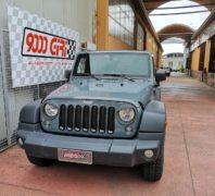 """Elaborazione Jeep Wrangler Jk 2.8 crd """"Reptile"""""""