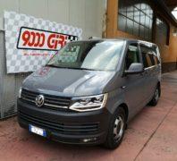"""Elaborazione Vw Transporter T6 2.0 Tdi """"Capodimonte"""""""