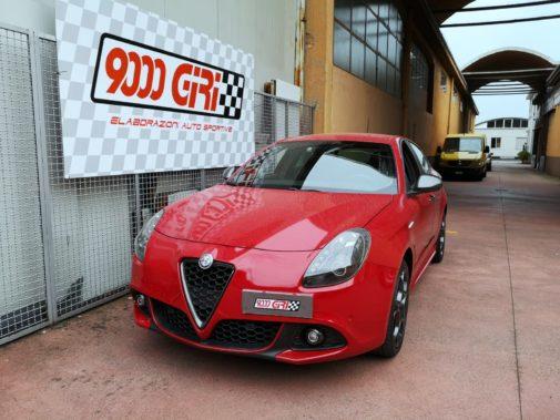 Alfa Romeo Giulietta 1.4 Turbo Multiair powered by 9000 Giri