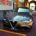 """Elaborazione Alfa Romeo Giulia 2.0 Tb """"Regina di cuori"""""""